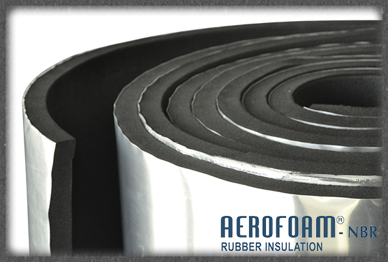 Aerofoam 174 Nbr Rubber Clad Aerofoam 174 Insulation Solutions